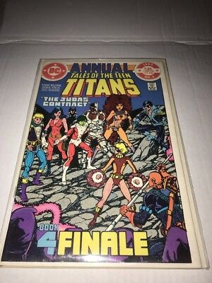 DC Comics1984 ANNUAL TALES OF THE TEEN TITANS #3
