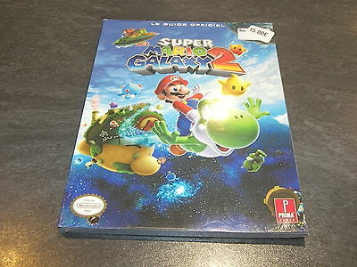 Guide Officiel Super Mario Galaxy 2 Neuf Emballe Nintendo Prima Games