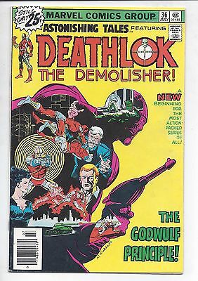 Astonishing Tales   #36  (  Fn-  )  *********  Sale!!  *****  Deathlok