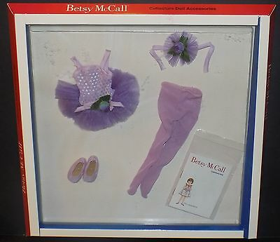 Robert Tonner Betsy Mccall Collectible Doll Ballet Recital Outfit Style #003 Nib
