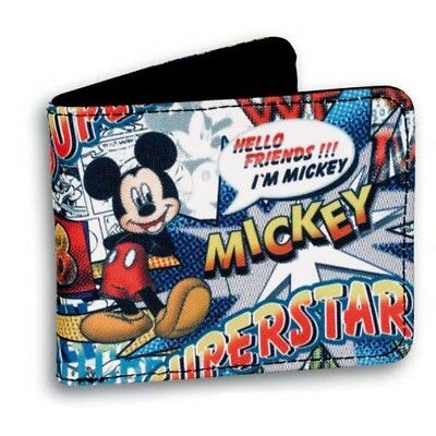 Mickey Mouse porte-monnaie Boom wallet portefeuille Disney 212305