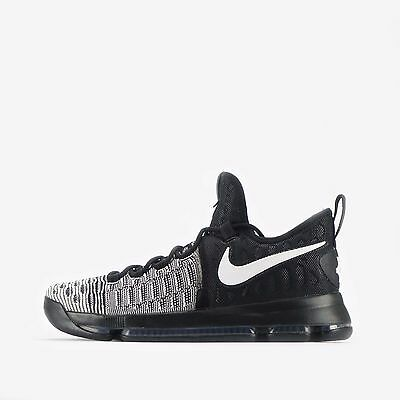 Nike Zoom KD 9 Men's Basketball Shoes Black/White