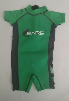 Bare Wetsuit Swim Bodysuit Boys Toddler 2 Years