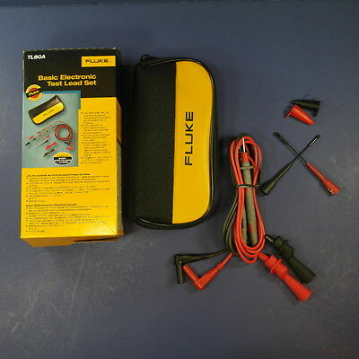Brand New Fluke TL80A Basic Electronic Test Lead Set