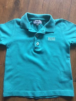 Baby Boys ORIGINAL HUGO BOSS Polo Shirt 12 Months