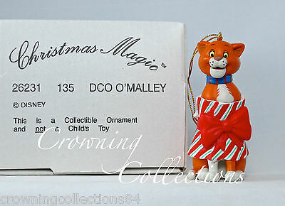 Grolier Thomas O'Malley The Aristocats Disney Ornament Christmas DCO Cat Omalley