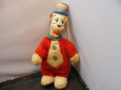 Vintage  Knickerbocker HANNA BARBERA Huckleberry Hound Cartoon toy