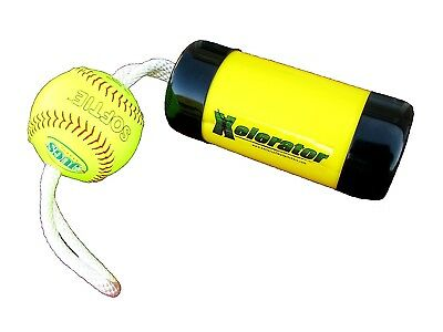 The Ultimate Xelerator Fastpitch Softball Pitching Training Aid And Warm Up
