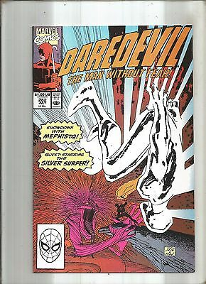 Daredevil Original Series #282  Mephisto * Silver Surfer  Marvel 1990  Nice!!!