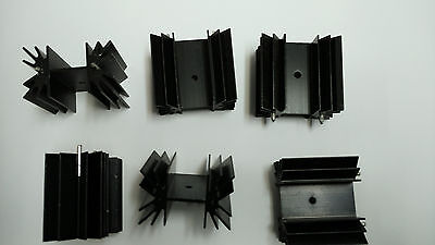 AAVID THERMALLOY  6298BG  Heat Sink TO-220/218, TO-218, TO-220 PACK OF 10