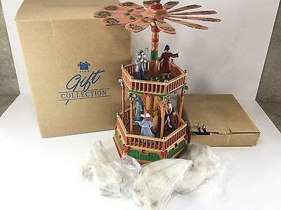 Avon Collectible A Christmas Carol Windmill Electronic New Opened Box