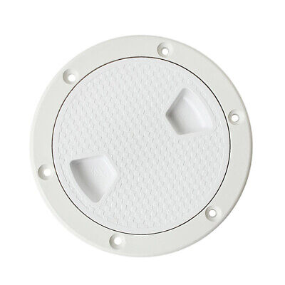 """2pcs 4"""" 6"""" Access Hatch Round Inspection Hatch Cover Boat Marine Plastic"""
