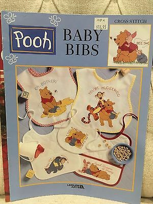 Winnie the Pooh -  Baby Bibs - counted cross stitch patterns