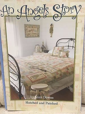 Hatched and Patched - An Angel's Story - quilt pattern