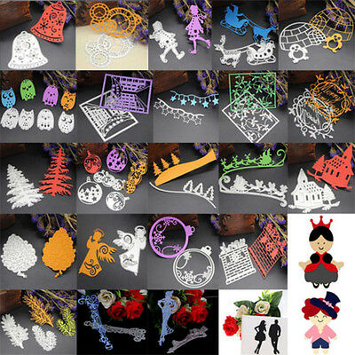 Metal Cutting Dies Stencil Album Paper Cards Embossing Scrapbooking Craft DIY 08