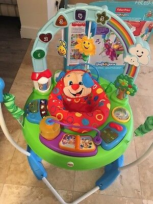 Jumperoo Fisher-Price Laugh & Learn Puppy's Activity Jumperoo • £35.00 - PicClick UK