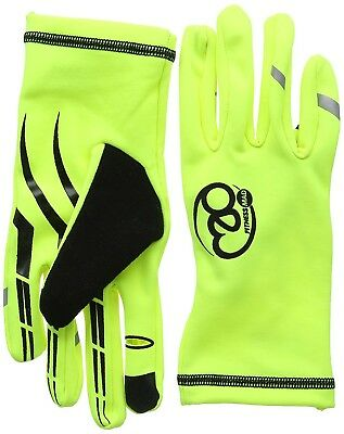 (Small, Yellow/Black) - Fitness-Mad Running Gloves. Fitness Mad