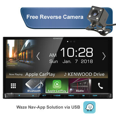 Kenwood DMX7017BTS 7 inch + Apple CarPlay & Android Auto