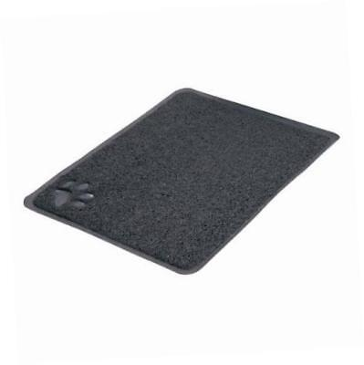Trixie Cat Litter Tray Mat 40 × 60 cm Anthracite Rectangle