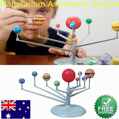 Solar System & Planetarium 3D Planets Model Toy Gift for Children Child Kids AUS