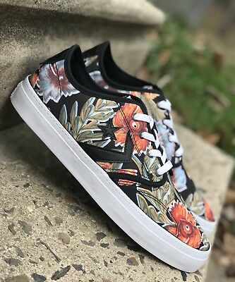 f1882865f36e Converse Cons Ox Floral (151318C) Hawaiian Hibiscus Flowers Low Top Mens  Shoes