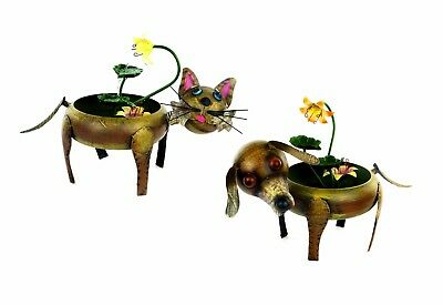 Water Feature Fountain Pump Garden Outdoor Decor Cat and Dog Easy to Install NEW