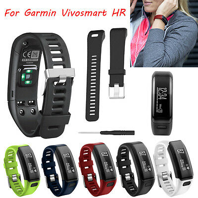 Replacement Soft Silicone Band Bracelet Strap WristBand for Garmin Vivosmart HR