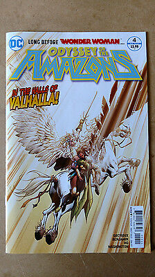 Odyssey Of The Amazons #4 First Print Dc Comics (2017) Wonder Woman