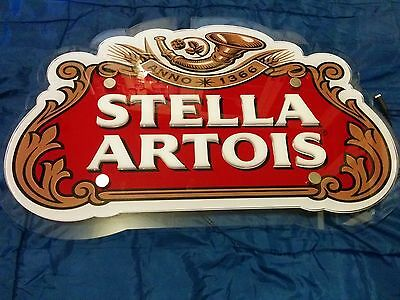 Stella Artois LED sign 25x16 inches for BAR, PUB or Mancave