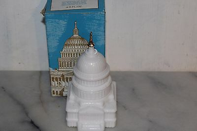 Vintage Avon THE CAPITOL  4.5 fl. oz. Wild Country After Shave Decanter Bottle
