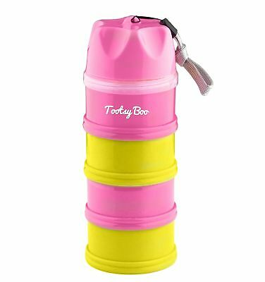 Tootsy Boo Formula Milk Powder Dispenser and Snack Container ܠ up to 4 feedings