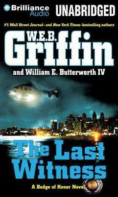 THE LAST WITNESS unabridged audio book CD by W.E.B. GRIFFIN - Brand New 10 Hours