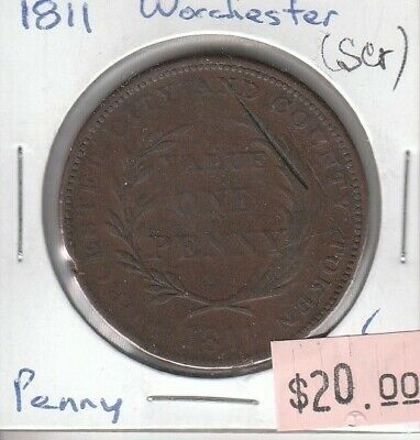 Great Britain Penny 1811 - Worchester