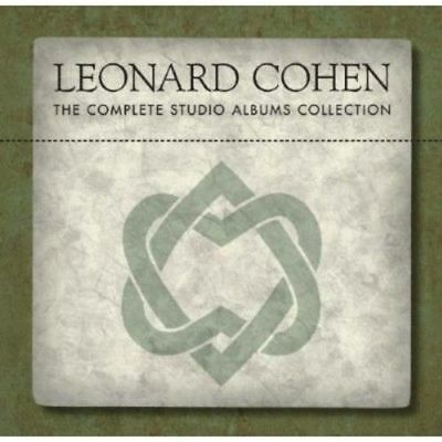 "NEW SEALED! Leonard Cohen ""The Complete Studio Albums Collection"" 11 CD Box Set"