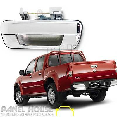 Holden RA Rodeo Rear Tail Gate Handle Outer CHROME No Lock Hole 2WD 4WD '06-'08
