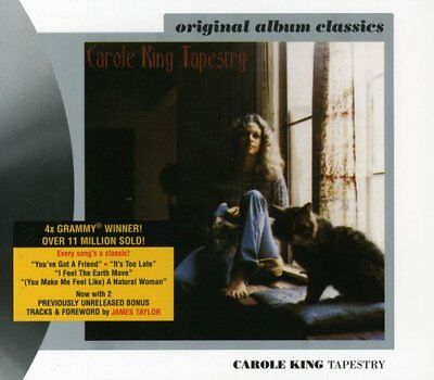 Tapestry - Carole King (CD Used Like New) Remastered