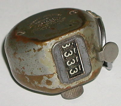 Vintage Veeder Root Hand held Counter Tally USA 1915