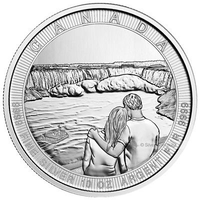 10 oz 2017 Royal Canadian Mint Canada the Great Series | Niagara Falls Silver Co