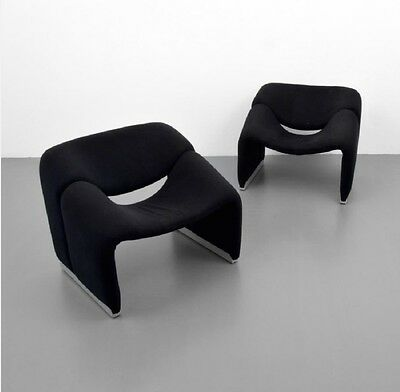 "Pair Of Pierre Paulin (for Artifort) ""Groovy"" Chairs"