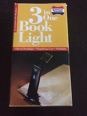 American Tourister 3 In One Book Light