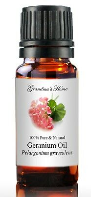 Geranium Essential Oil - 10 mL 100% Pure and Natural Free Shipping - US Seller