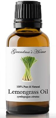 Lemongrass Essential Oil - 30 mL 100% Pure and Natural Free Shipping - US Seller