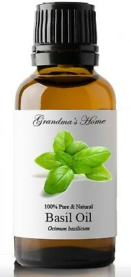Basil Essential Oil - 30 mL 100% Pure and Natural Free Shipping - US Seller