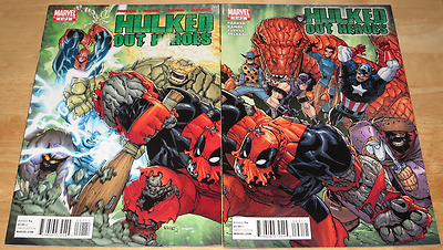 Marvel Comics HULKED OUT HEROES #1 & #2 (Both Parts)