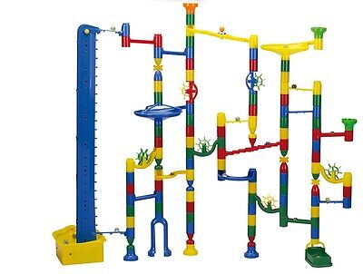 Marble Run Marbulous140 Piece Motorised Marble Race Machine NEW HIGH Quality TOY