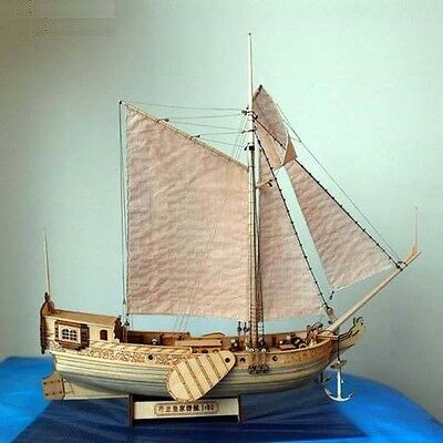 "Hobby ship model kits scale 1/80 12"" Dutch royal yacht sailboat wooden Model"