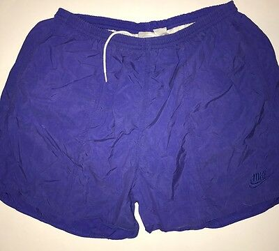 Vintage Nike Shorts 80s 90s Gray Tag Size L
