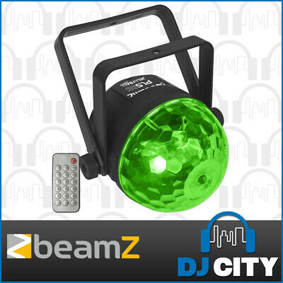 Beamz PLS35 LED Jellyball Party Effect Disco Sound Active Light w/ RGB+UV LED