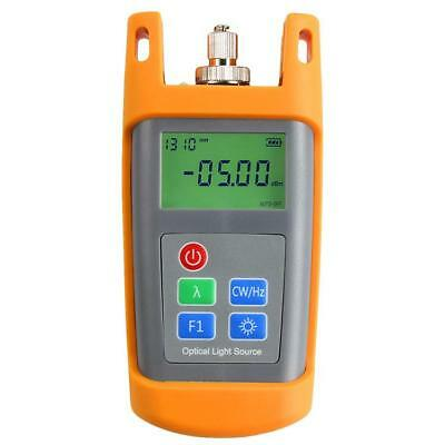 Handheld Fiber Optical Equipments Laser Light Source Two Wavelength 1310/1550nm