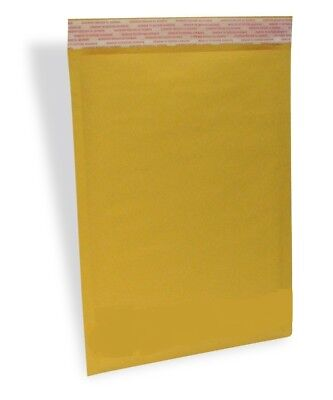 100 #5 10.5x16 Eco Kraft Bubble Padded Envelopes Mailers Lite Shipping Bags